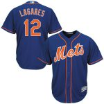 Majestic Juan Lagares New York Mets Royal Cool Base Player Jersey