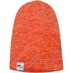 New Era Denver Broncos Women's Orange Team Blend Slouch Knit Hat