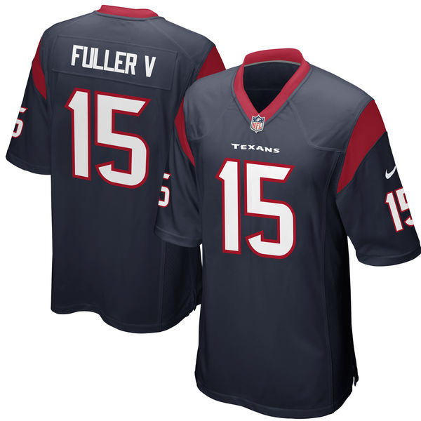 Nike Will Fuller Houston Texans Youth Navy Game Jersey