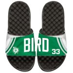 ISlide Boston Celtics Larry Bird Retro Jersey Slide Sandals