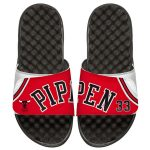 ISlide Chicago Bulls Scottie Pippen Retro Jersey Slide Sandals