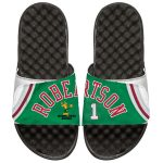 ISlide Milwaukee Bucks Oscar Robertson Retro Jersey Slide Sandals