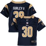 Nike Todd Gurley Los Angeles Rams Toddler Navy Game Jersey
