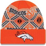 New Era Denver Broncos Orange Cozy Cuffed Knit Hat