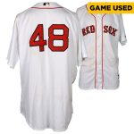 Fanatics Authentic Pablo Sandoval Boston Red Sox Game-Used #48 Jersey vs. New York Yankees on July 11, 2015