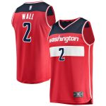 Fanatics Branded John Wall Washington Wizards Youth Red Fast Break Replica Jersey - Icon Edition