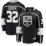 Fanatics Branded Jonathan Quick Los Angeles Kings Youth Black Home Breakaway Player Jersey