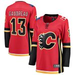 Fanatics Branded Johnny Gaudreau Calgary Flames Women's Red Home Breakaway Player Jersey