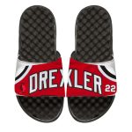 ISlide Clyde Drexler Portland Trail Blazers Youth Retro Jersey Slide Sandals