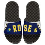 ISlide Jalen Rose Indiana Pacers Youth Retro Jersey Slide Sandals