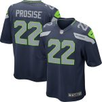Nike C.J. Prosise Seattle Seahawks Youth College Navy Game Jersey