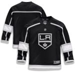 Fanatics Branded Los Angeles Kings Youth Black Home Replica Blank Jersey