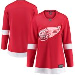 Fanatics Branded Detroit Red Wings Women's Red Breakaway Home Jersey