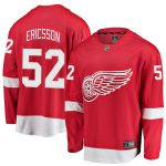 Fanatics Branded Jonathan Ericsson Detroit Red Wings Red Breakaway Player Jersey