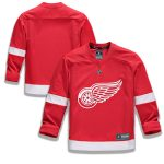 Fanatics Branded Detroit Red Wings Youth Red Home Replica Blank Jersey