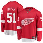 Fanatics Branded Frans Nielsen Detroit Red Wings Red Breakaway Player Jersey