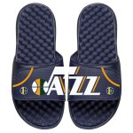 ISlide Utah Jazz Navy Away Jersey Split Slide Sandals