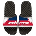 ISlide Washington Wizards Youth White Away Jersey Slide Sandals