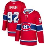 adidas Jonathan Drouin Montreal Canadiens Red Authentic Player Jersey
