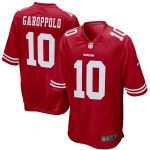 Nike Jimmy Garoppolo San Francisco 49ers Youth Scarlet Game Jersey