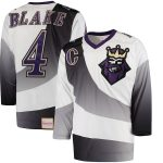 Mitchell & Ness Rob Blake Los Angeles Kings White 1995/96 Throwback Alternate Authentic Vintage Jersey
