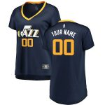 Fanatics Branded Utah Jazz Women's Navy Fast Break Custom Jersey - Icon Edition