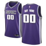 Nike Sacramento Kings Purple Swingman Custom Jersey - Icon Edition