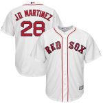 Majestic JD Martinez Boston Red Sox White Official Cool Base Player Jersey