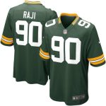 Nike BJ Raji Green Bay Packers Youth Green Team Color Game Jersey