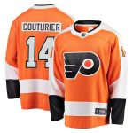 Fanatics Branded Sean Couturier Philadelphia Flyers Orange Breakaway Jersey