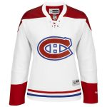 Reebok Montreal Canadiens Women's White Away Premier Jersey