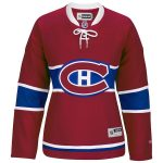 Reebok Montreal Canadiens Women's Red Premier Home Jersey