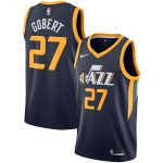 Nike Rudy Gobert Utah Jazz Navy Replica Swingman Jersey - Icon Edition