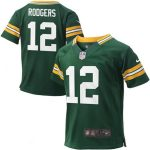 Nike Aaron Rodgers Green Bay Packers Toddler Green Game Jersey