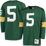 Mitchell & Ness Paul Hornung Green Bay Packers Green 1961 Throwback Authentic Jersey