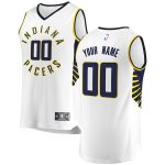 Fanatics Branded Indiana Pacers Youth White Fast Break Custom Replica Jersey - Association Edition