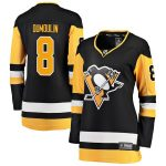 Fanatics Branded Brian Dumoulin Pittsburgh Penguins Women's Black Premier Breakaway Player Jersey