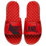 ISlide Portland Trail Blazers Red Statement Jersey Split Slide Sandals