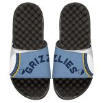 ISlide Memphis Grizzlies Youth White Statement Jersey Split Slide Sandals