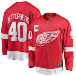 Fanatics Branded Henrik Zetterberg Detroit Red Wings Youth Red Replica Player Jersey
