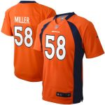 Nike Von Miller Denver Broncos Preschool Orange Game Jersey