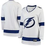 Fanatics Branded Tampa Bay Lightning Women's White Away Breakaway Jersey