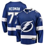 Fanatics Branded Victor Hedman Tampa Bay Lightning Youth Blue Breakaway Player Jersey