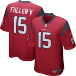 Nike Will Fuller Houston Texans Youth Red Game Jersey