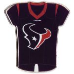 "WinCraft Houston Texans 1"" x 1"" Jersey Pin"