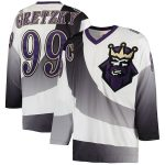 Mitchell & Ness Wayne Gretzky Los Angeles Kings White 1995/96 Throwback Alternate Authentic Vintage Jersey