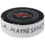 Fanatics Authentic Mike Matheson Florida Panthers Game-Used Goal Puck from October 27, 2018 @ New Jersey Devils