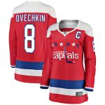 Fanatics Branded Alexander Ovechkin Washington Capitals Women's Red Alternate Breakaway Player Jersey