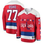 Fanatics Branded TJ Oshie Washington Capitals Red Alternate Breakaway Player Jersey
