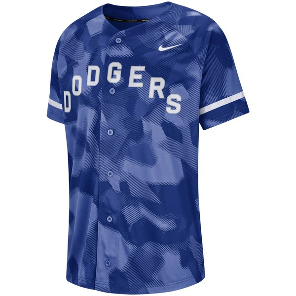 Nike Los Angeles Dodgers Royal Camo Jersey - Gear Up For Sports e3b18388ef2